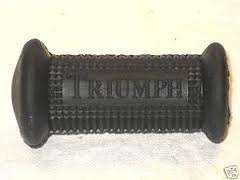 57-2330A RUBBER KICKSTART EMBOSSED UK 1968 ON WITH NAME