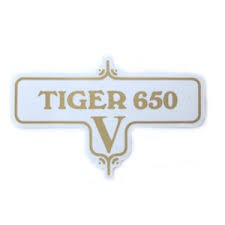 60-3952 TIGER 650 V DECAL