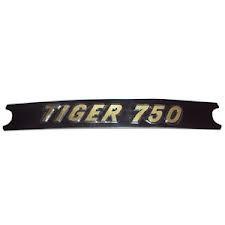 60-4384 DECAL TIGER 750 BLACK