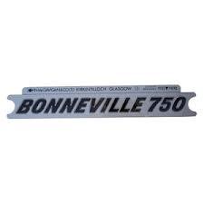 60-7054 DECAL BONNEVILLE BLACK/SILVER